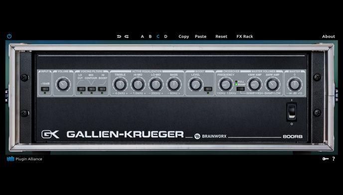 Gallien Krueger 800RB Plugin
