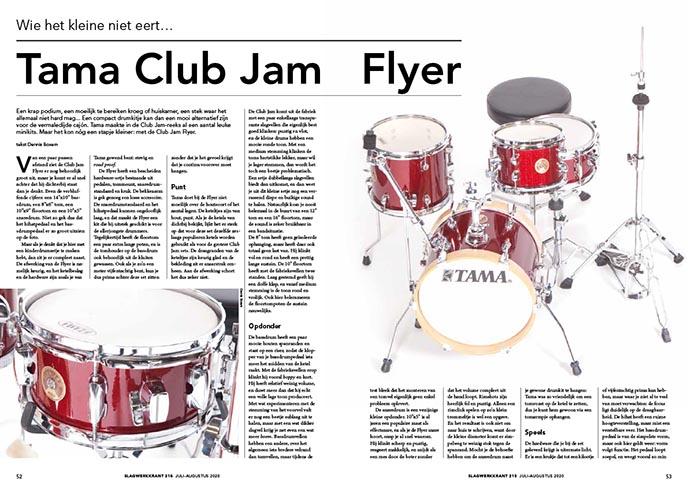 Tama Club Jam Flyer