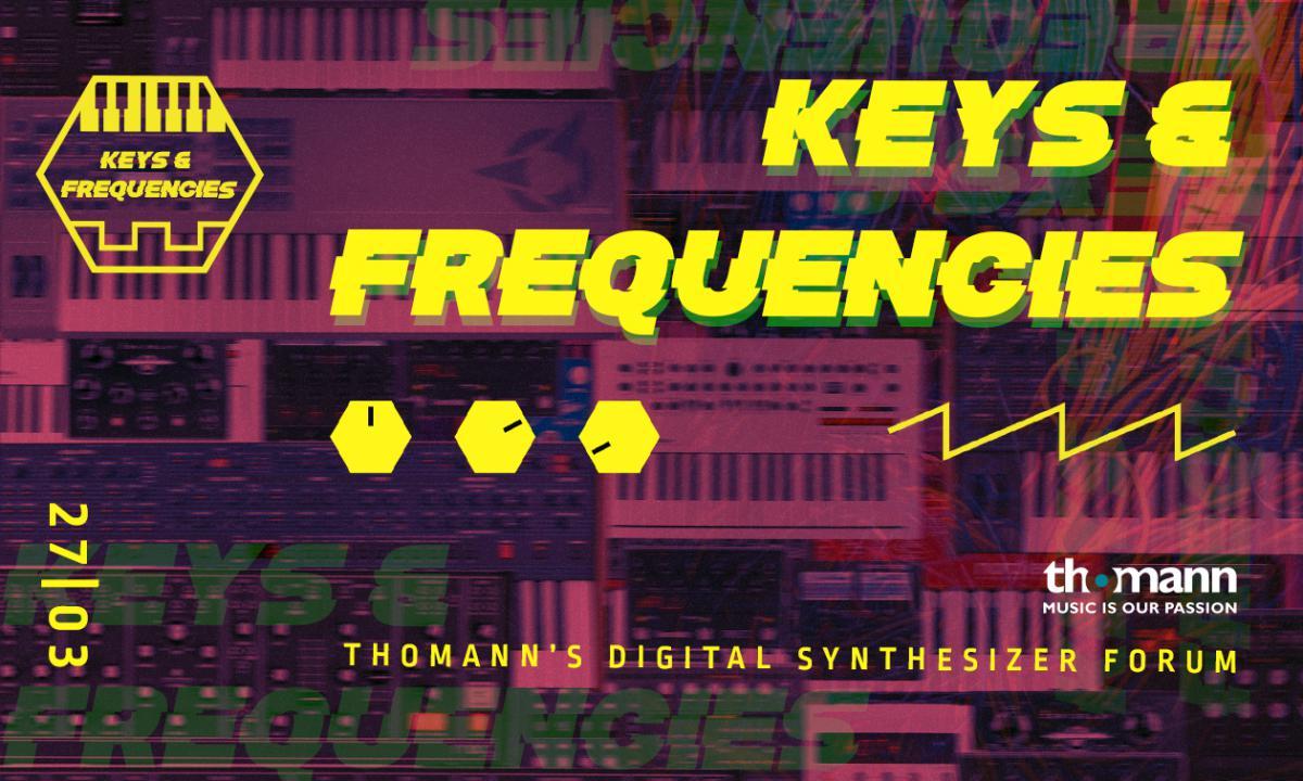 Komende zaterdag 27-3 - Keys & Frequencies online event