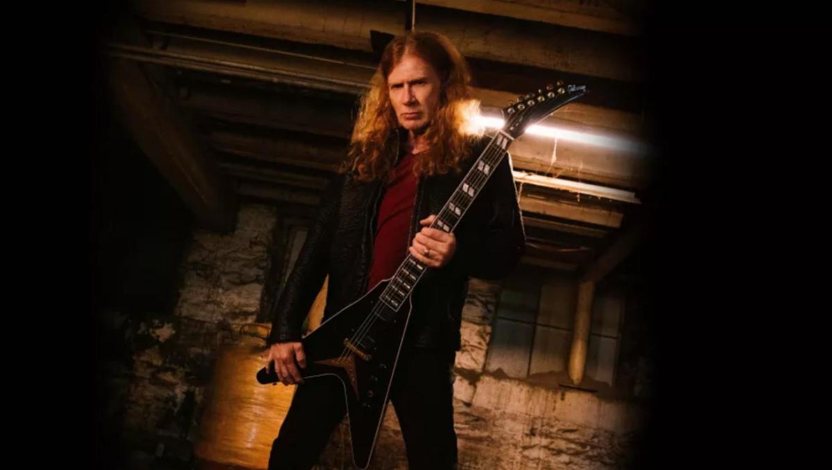 Eerste Dave Mustaine Signatures van Gibson