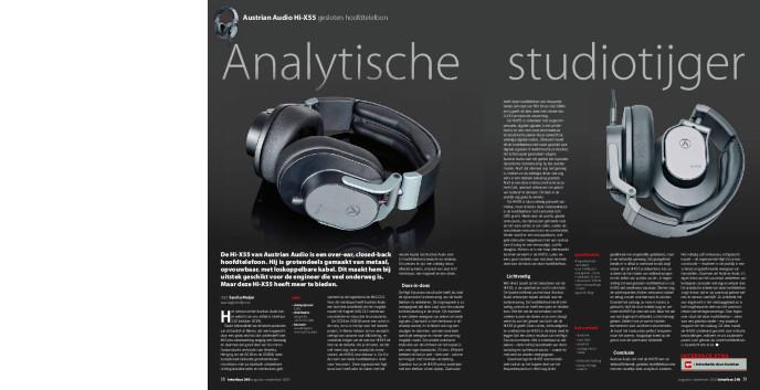 Austrian Audio Hi-X55 gesloten hoofdtelefoon