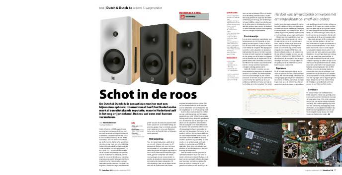 Dutch & Dutch 8c actieve 3-wegmonitor