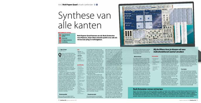 Rob Papen Quad virtuele synthesizer