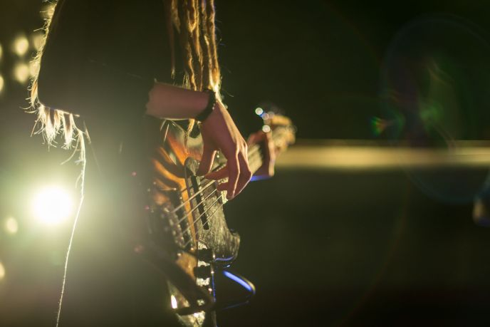 De Bassist Talent Inge de Vries live!