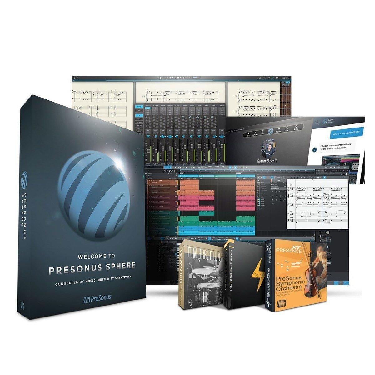 PreSonus Sphere en M1 hardware drivers