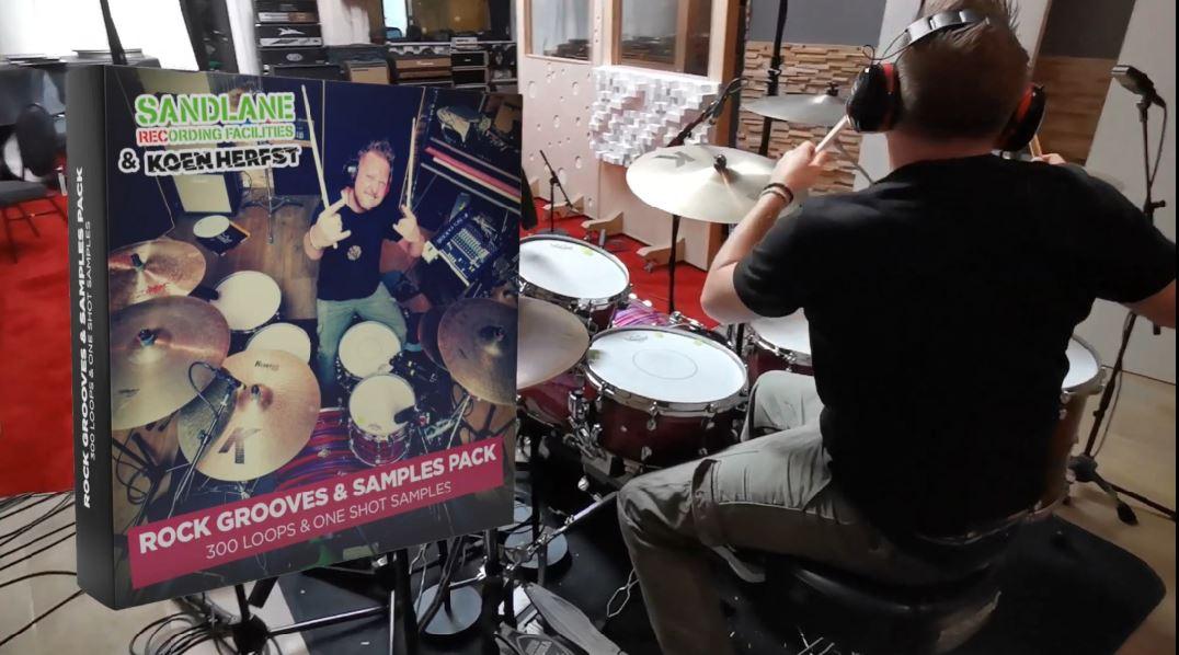 Rock Grooves & Samples Pack van Koen Herfst
