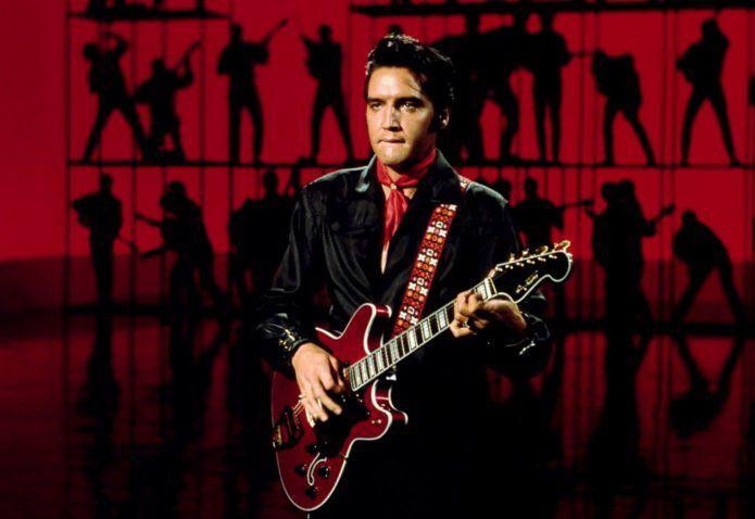 Elvis Presley's '68 Comeback Special Hagstrom geveild voor half miljoen dollar