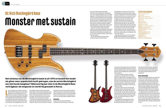 BC Rich Mockingbird Bass