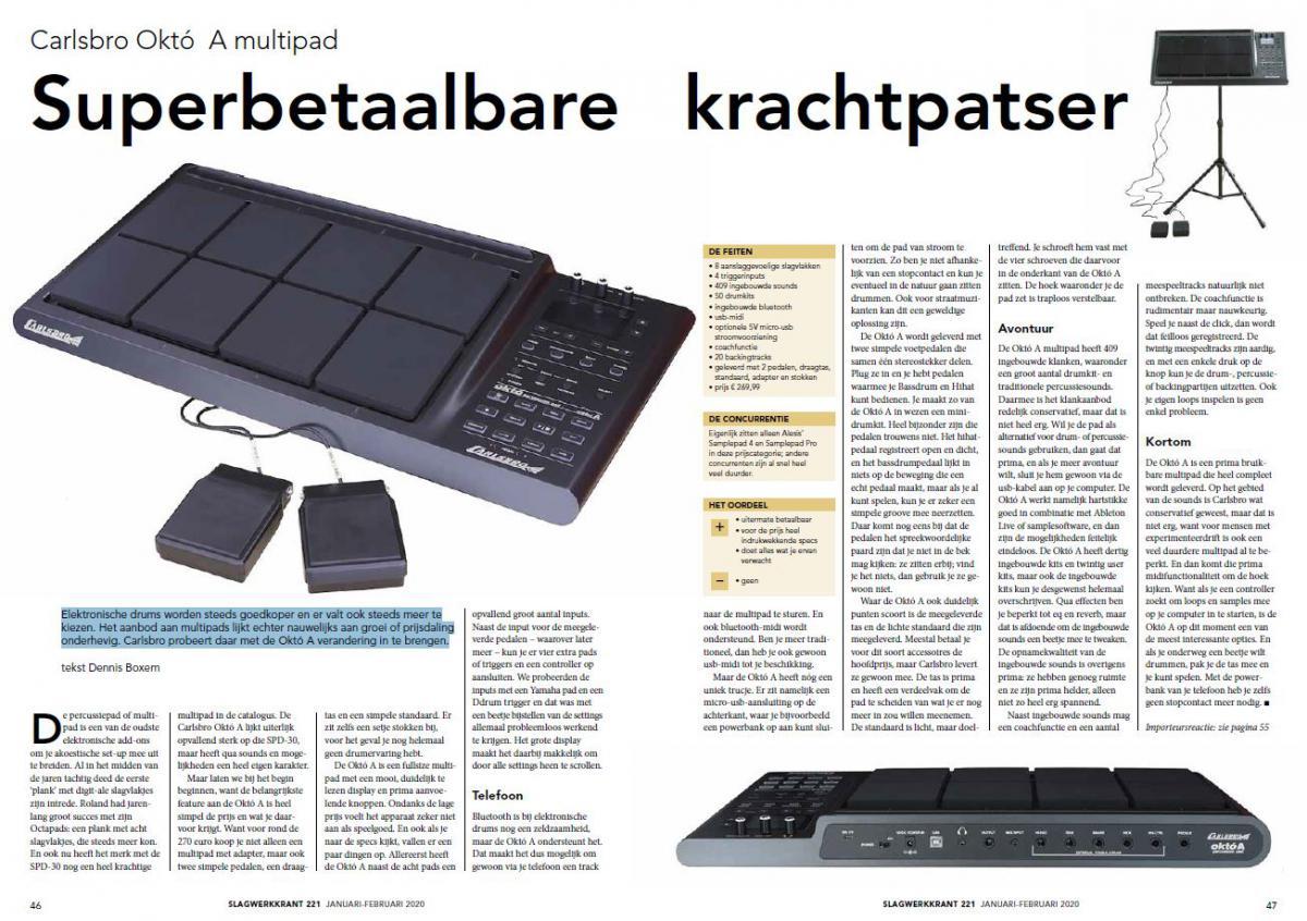 Carlsbro Októ A multipad