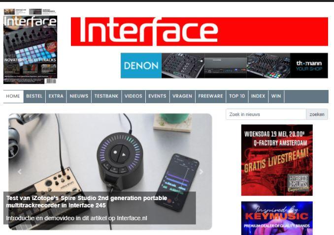 Onze website Interface.nl is vernieuwd