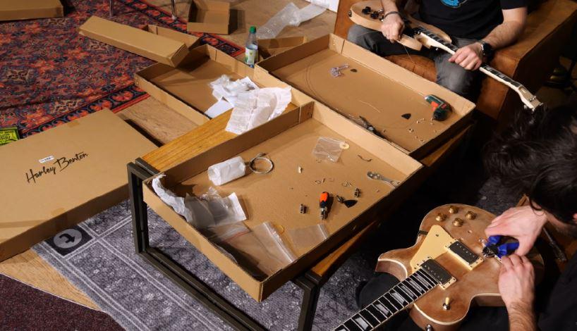Bouw je eigen gitaar of bas en doe mee aan de DIY Kit Challenge van Thomann