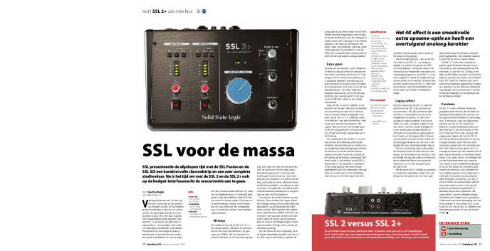 SSL 2+ usb-interface