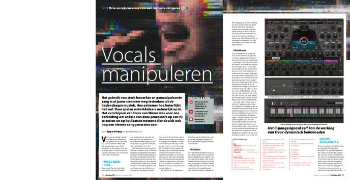 Drie vocalprocessors en een virtuele zangeres