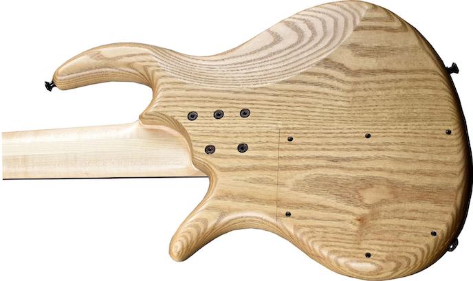 Elrick Bass Guitars Sassafras hout