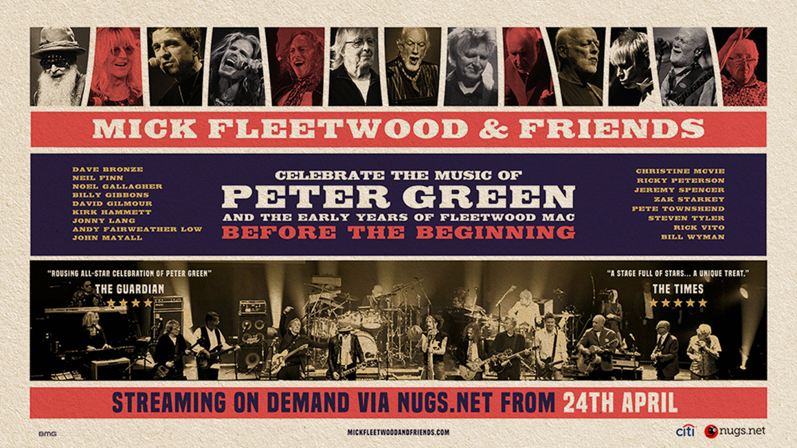 Release van de Week: Mick Fleetwood & Friends Celebrate the Music of Peter Green