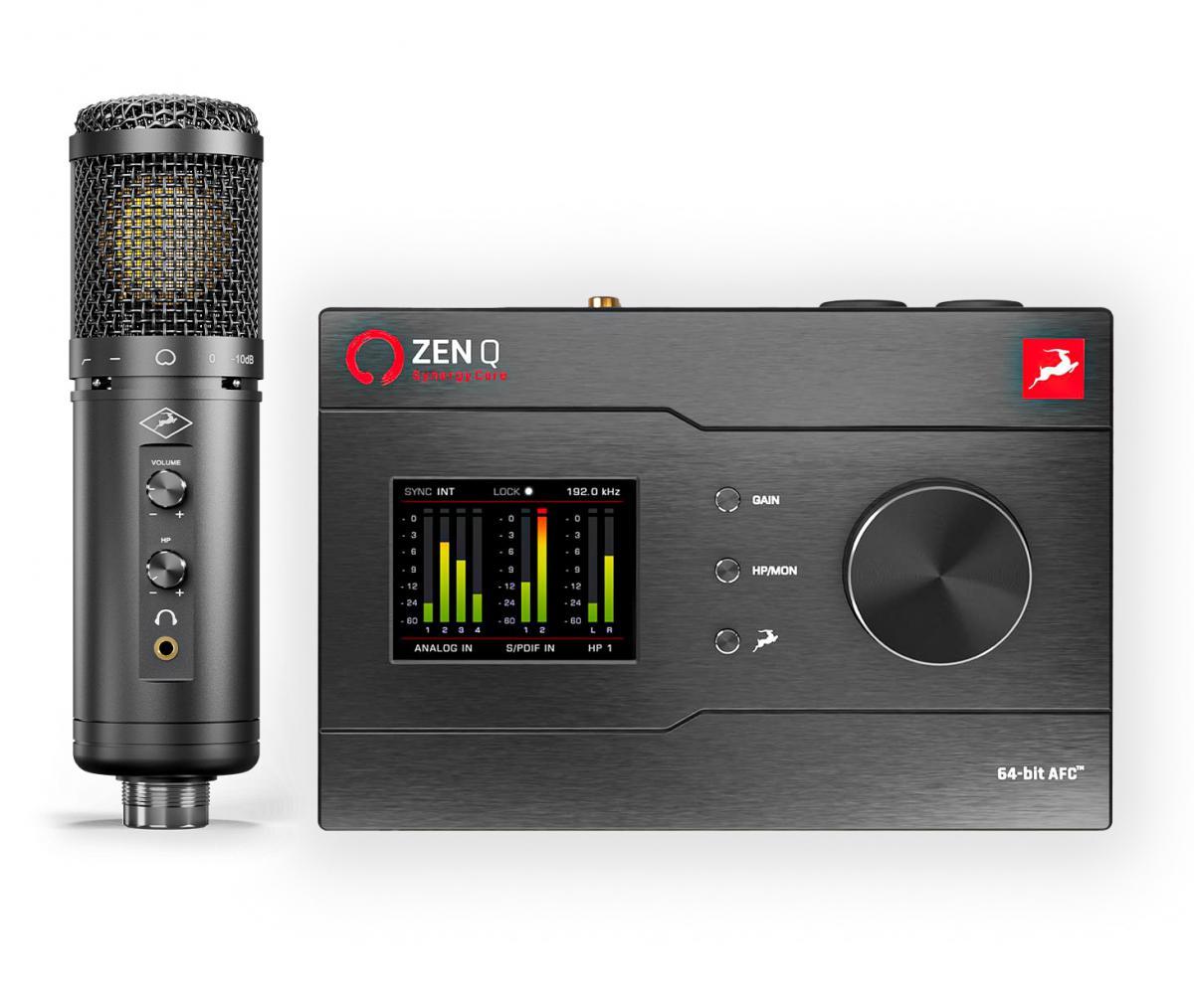 Antelope Zen Q Synergy Core en Axino modeling mic