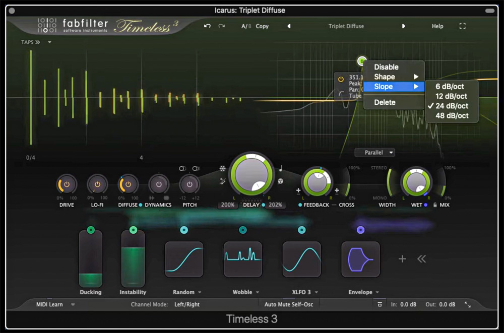 FabFilter Timeless 3 - Don't waste your time, modulate it!
