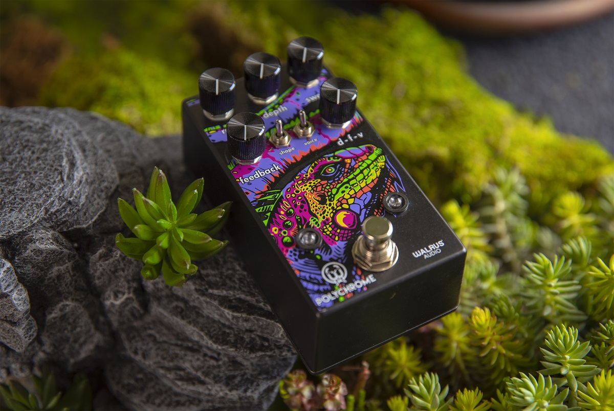 Walrus Audio Polychrome analoge flanger
