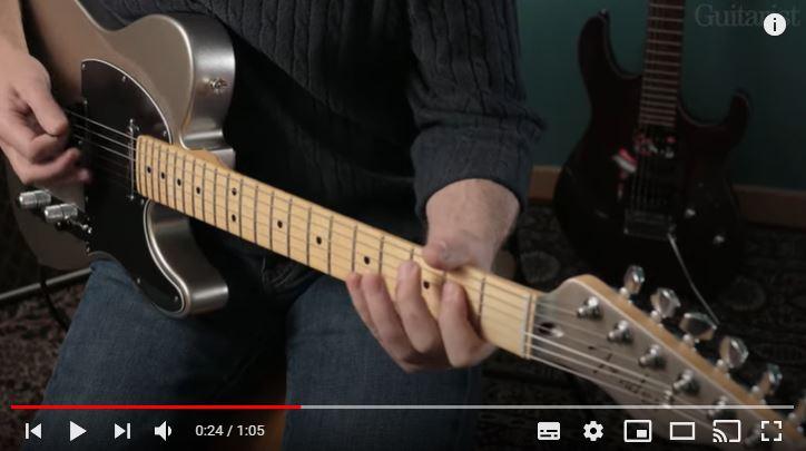 Video bij de Fender test in Gitarist 363