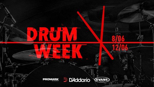 Het is Drumweek bij Keymusic - 8 tot en met 12 juni