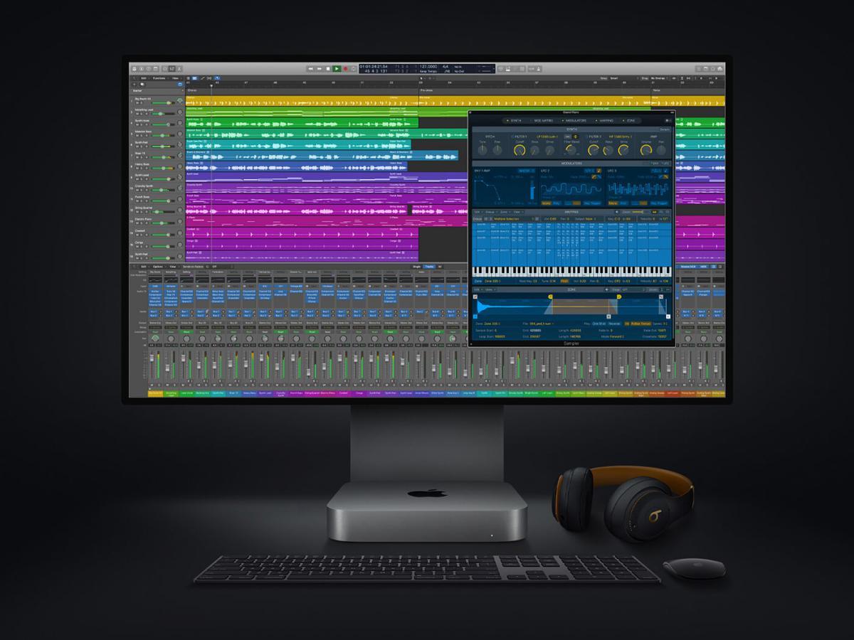 Logic Audio Pro Spatial Audio tools