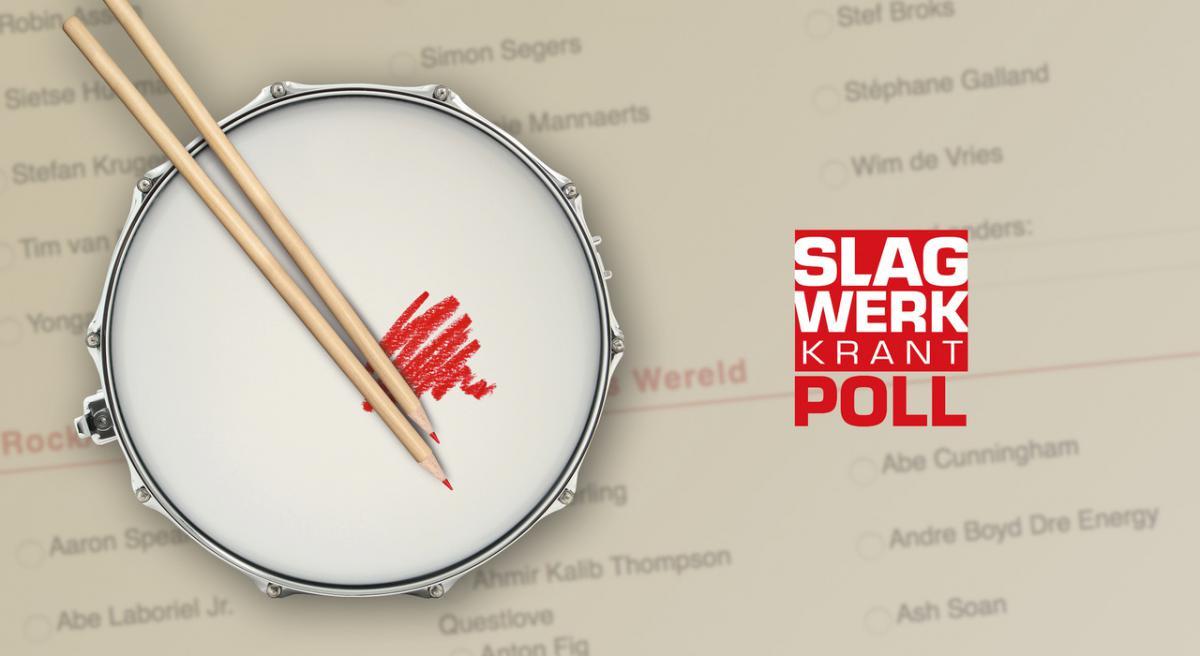 Het Pollformulier staat online! Kies nu je favoriete drummer, product van het jaar en meer in de Slagwerkkrant Poll 2020