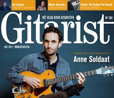Juli-editie Gitarist nu in de winkel - overal in Nederland en België!