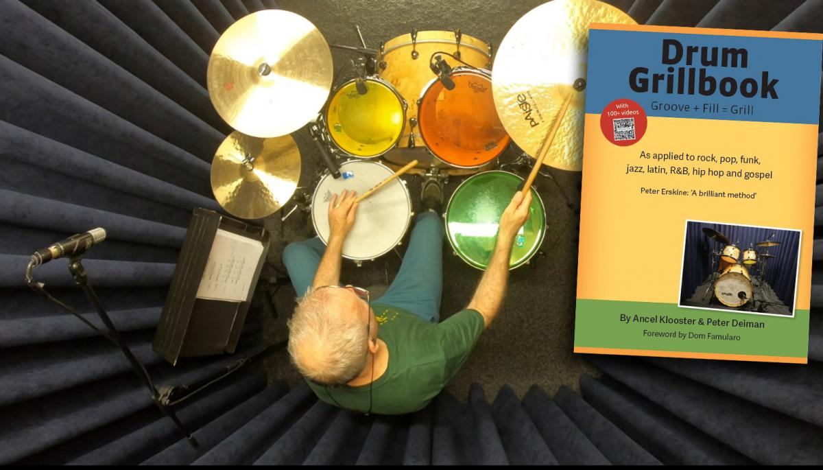 Nu leverbaar! Het Drum Grillbook van Ancel Klooster en Peter Deiman