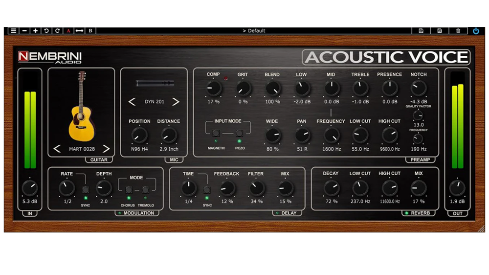 Nembrini Audio Acoustic Voice