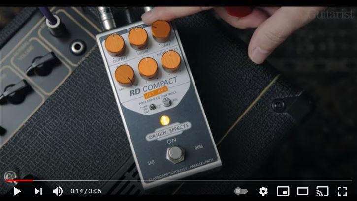 Video bij de Origin Effects test in Gitarist 365