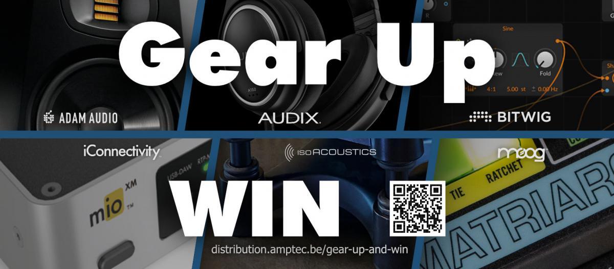 Gear Up And Win! Maak kans op een volledige home studio