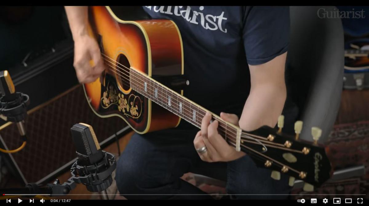 Video bij de Epiphone test in Gitarist 366