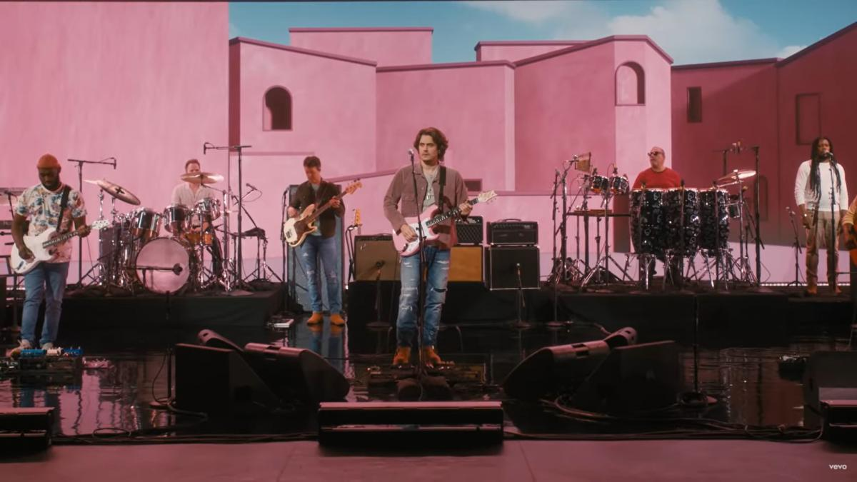 John Mayer's Sob Rock live
