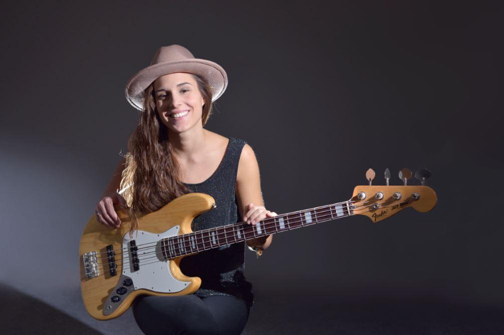 Kinga Glyk op Dutch Double Bass Festival