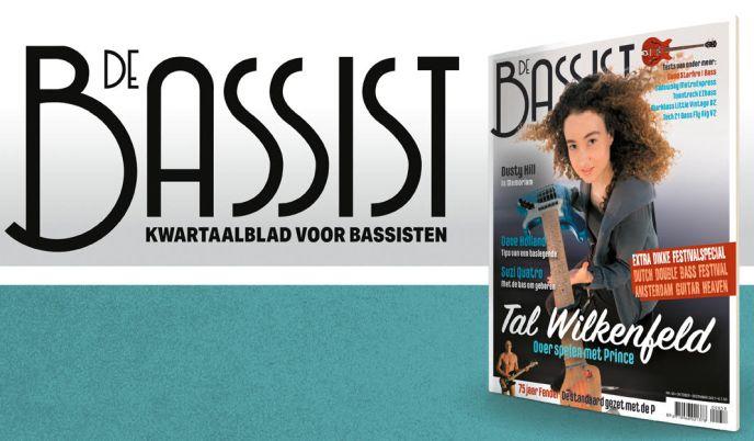De nieuwe editie van De Bassist is uit: DB58, okt-dec 2021