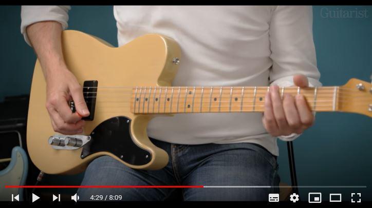 Video bij de Fender test in Gitarist 367