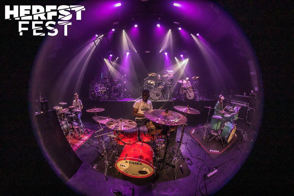 Herfstfest Drumfestival, zondag 10 oktober, Paard, Den Haag 11.30-18.30!