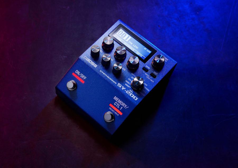 Cab's, IR's en Synthesizers in nieuwe pedalen van Boss