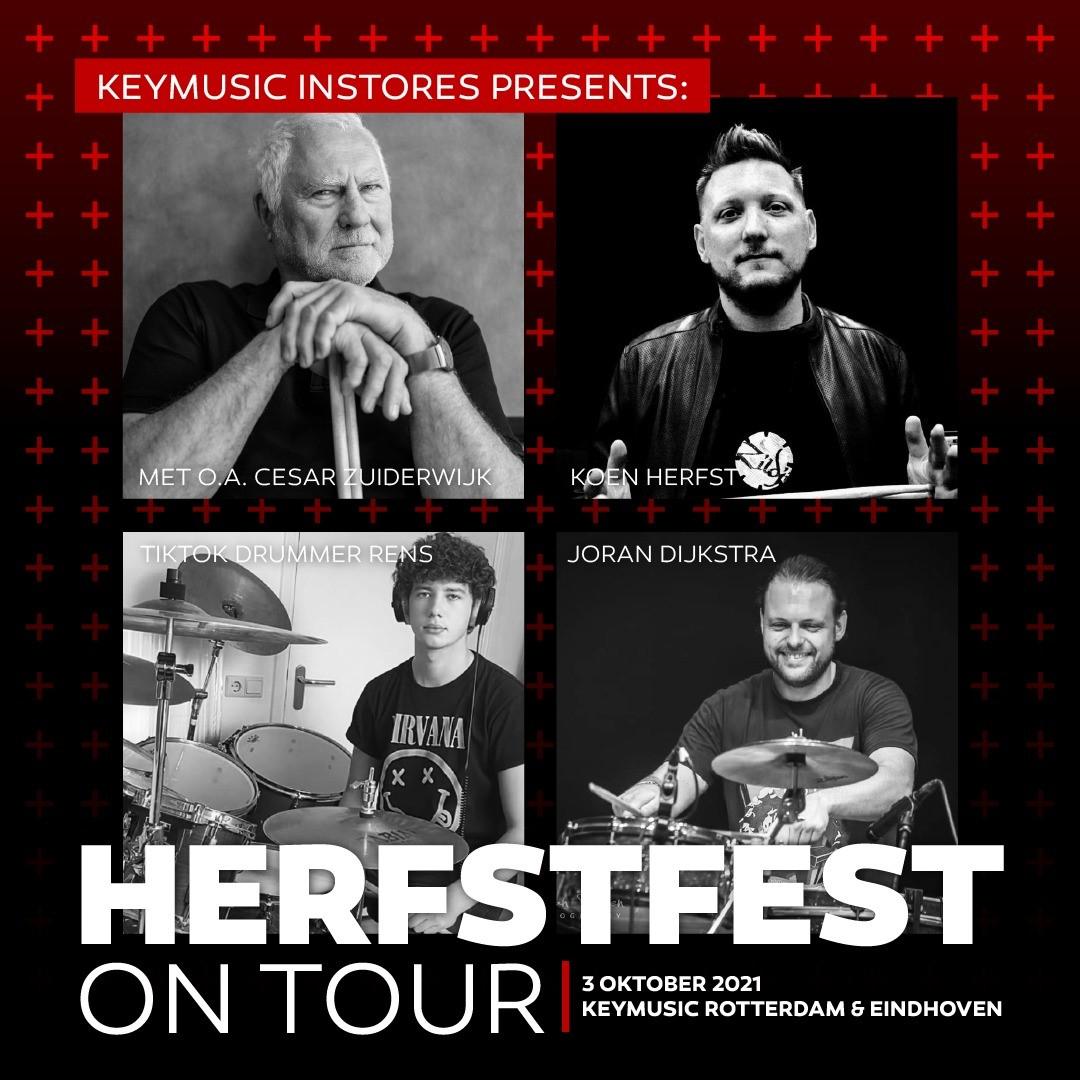 Deze zondag 3 oktober: Herfstfest on Tour in Eindhoven en Rotterdam