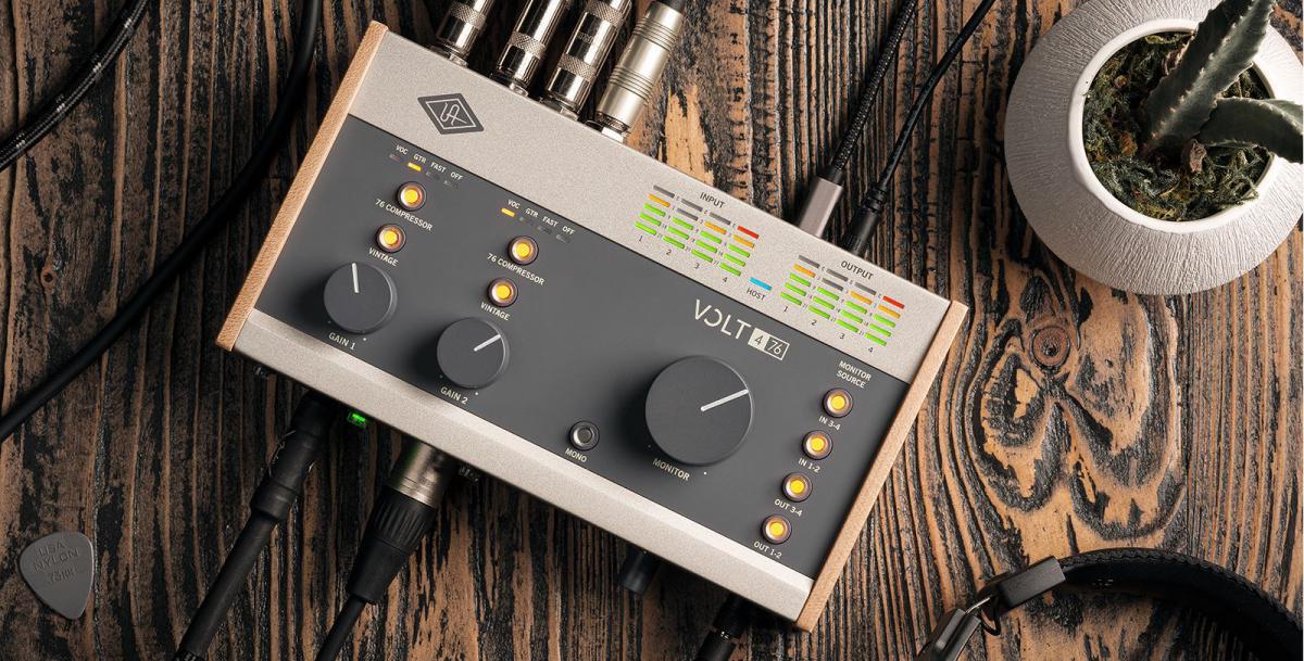 Universal Audio Volt interfaces