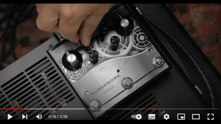 Video bij de J. Rockett test in Gitarist 368