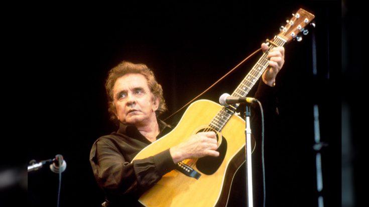 Open podium: Johnny Cash - Personal Jesus