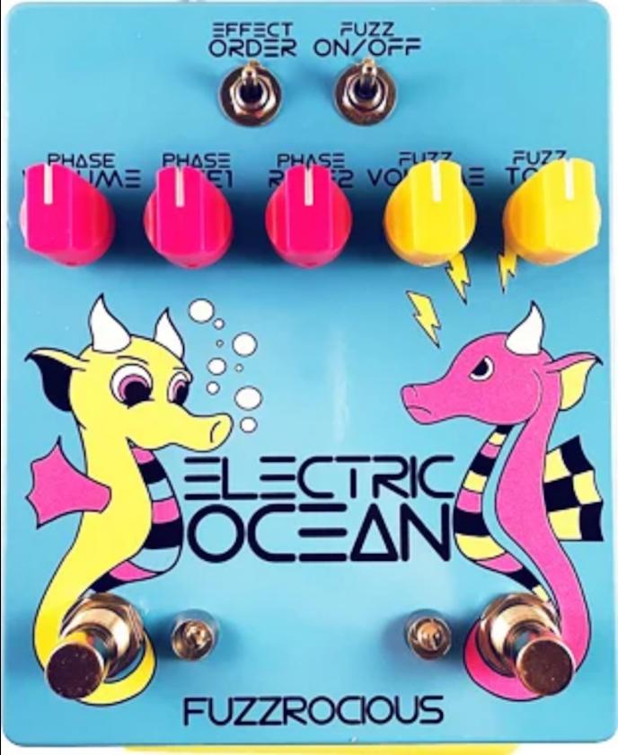 Fuzzrocious Electric Ocean Fuzz/Phaser