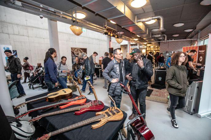 De Gearshow Gitaar & Bas op Amsterdam Guitar Heaven - zaterdag 20 november